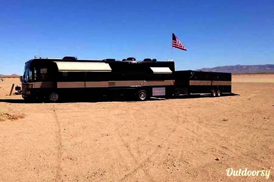 Luxury Diesel Country Coach Intrigue 40 Updated Los Angeles, CA