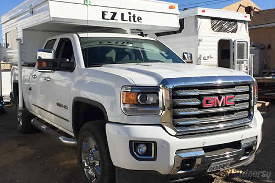2017 E-Z Lite Full Size Short Bed El Cajon, California