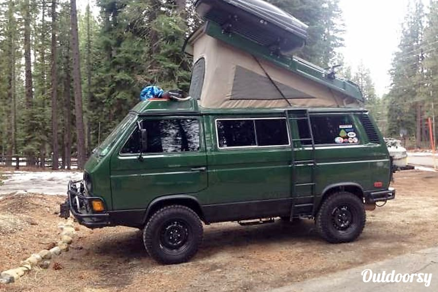 1992 Volkswagen Westfalia Salinas, California