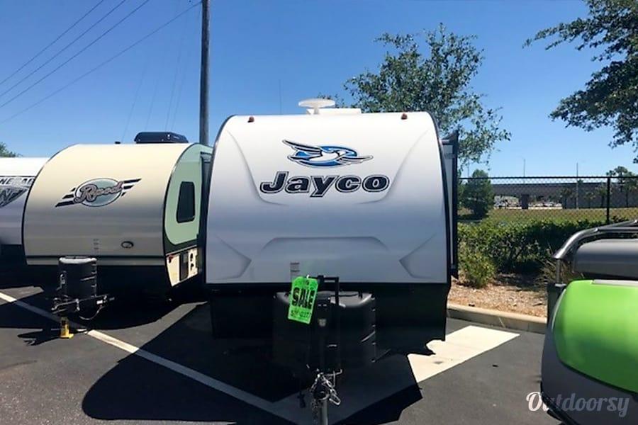 exterior 2017 Jayco Hummingbird 17RB Jacksonville, Fl