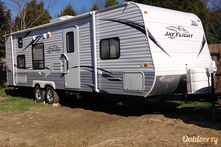 exterior 2012 Jayco Jay Flight Sellersburg, IN