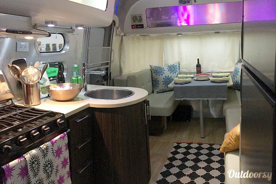 interior 2014 Airstream International Ventura, California