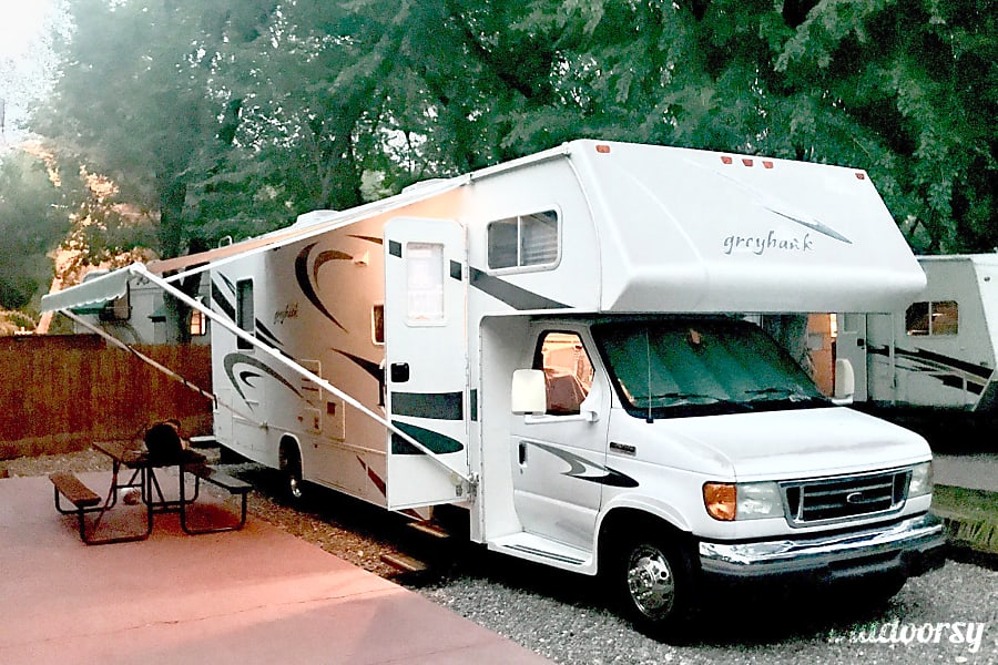 exterior Very Nice 31' Jayco Greyhawk! The Perfect RV for your Great Adventures... Tucson, AZ