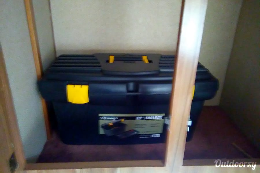 The Denver Nugget Aurora, Colorado Toolbox includes almost any tool you need to work on anything that breaks.