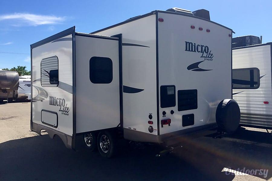exterior 2016 Micro Lite Adventure Camper Albuquerque, NM