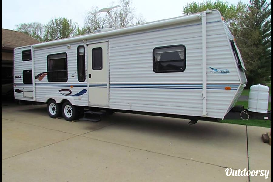 2000 Jayco Eagle Trailer Rental In Racine Wi Outdoorsy