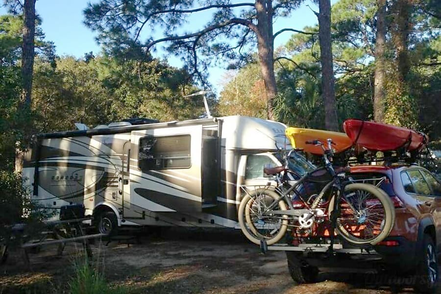exterior Reserve NOW for your fall adventure!   2015 Coachmen Concord Triple Slide Class C Winter Garden, FL