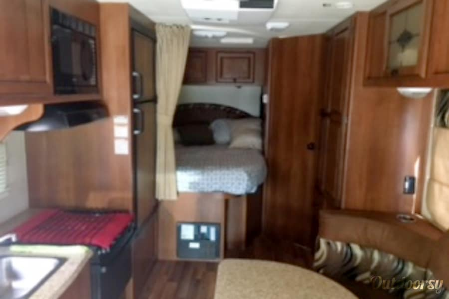 interior 2013 Coachmen Leprechaun Colorado Springs, CO