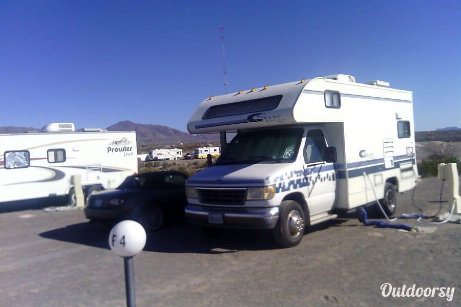 exterior 1996 Fleetwood Jamboree El Paso, Texas