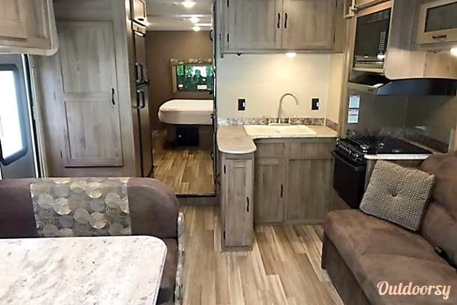 interior 2017 Coachmen Freelander Fletcher, NC