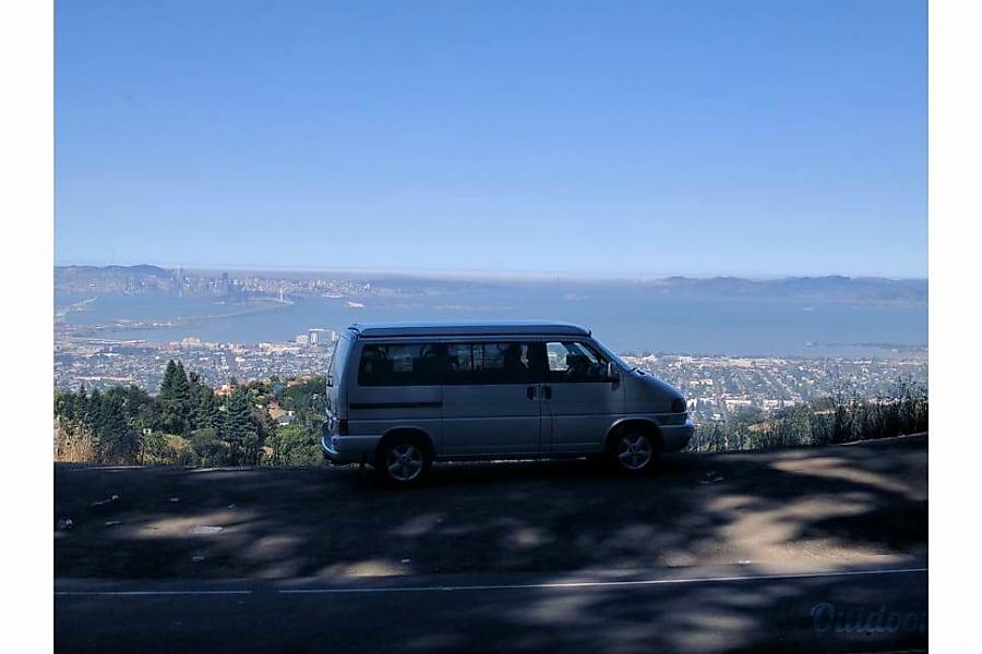 exterior 2003 Volkswagen euro-van weekender Oakland, CA
