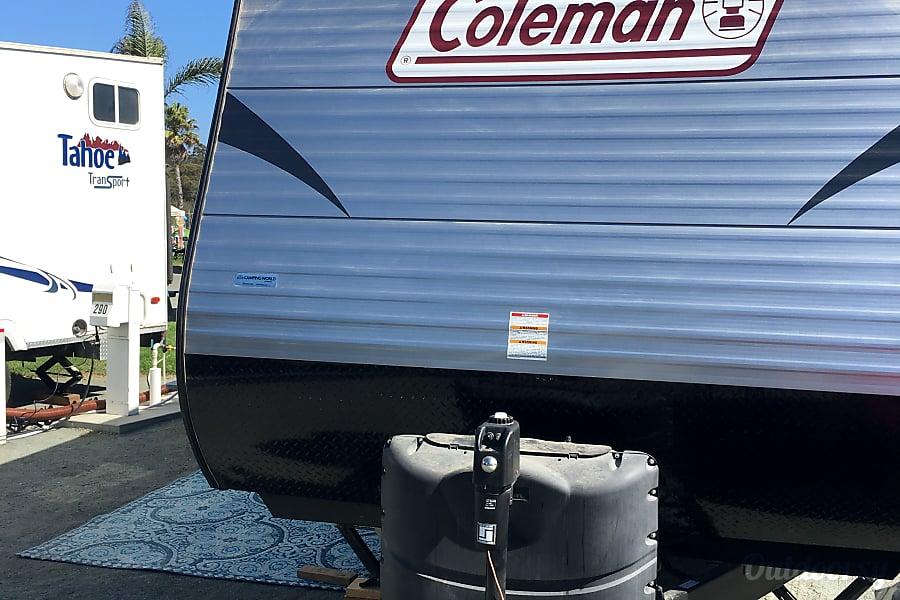 exterior 2016 Coleman w/ Double Bunks Pismo Beach, CA