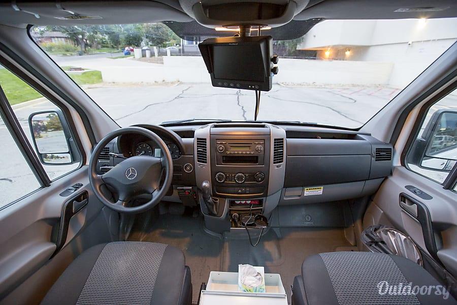 Custom Extended High Roof Sprinter! -- Jaunt Vans Salt Lake City, Utah