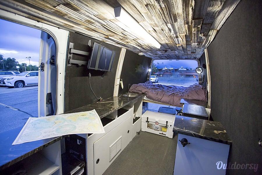 Custom Extended High Roof Sprinter! -- Jaunt Vans Salt Lake City, UT