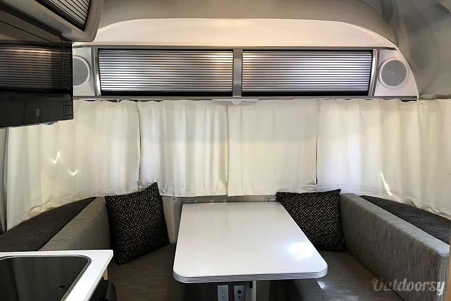 interior 2014 Airstream Bambi 16' Sport Denver, CO