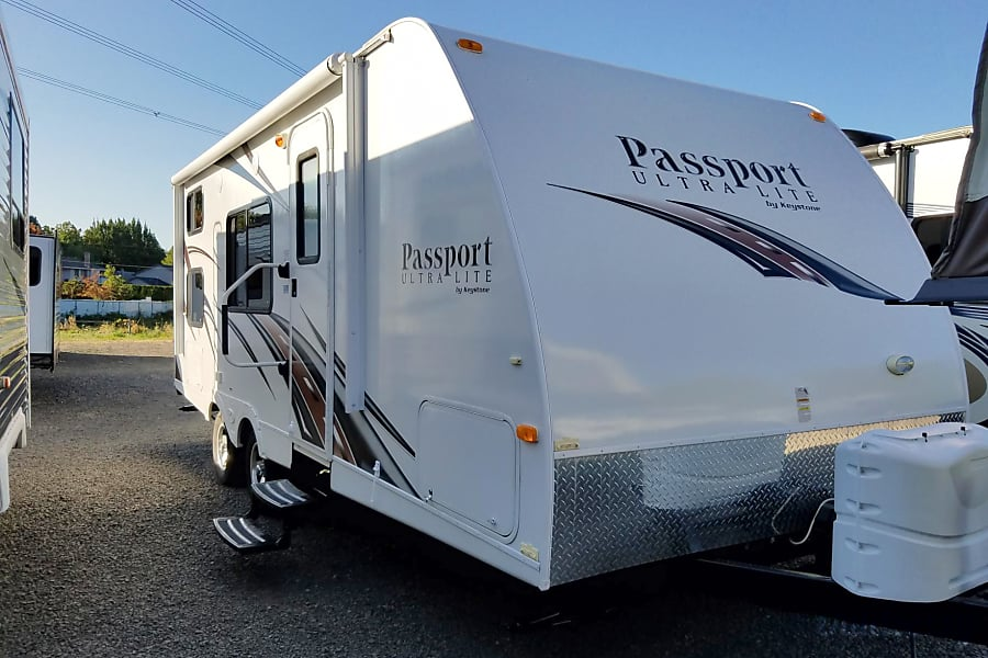 exterior Sit Back & Relax For All 4 Seasons with our 2013 Keystone Passport 238 MLWE Bunkhouse Trailer! AKA (Greebo) Portland, OR