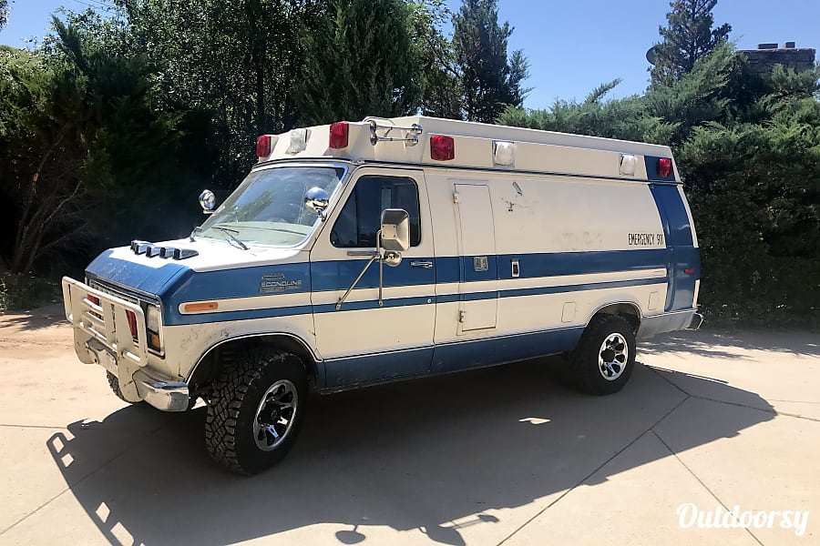 1984 Ford E350 Camper Ambulance Cascade Chipita Park, CO Welcome to the Campulance!