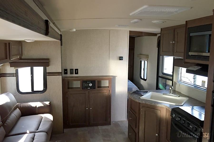 interior 2015 Palomino Solaire Ultra Lite Baxley, GA