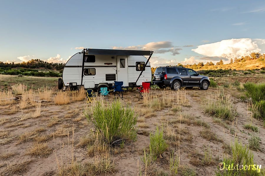 exterior 2016 Riverside RV Whitewater Retro With Bunk Beds Sleeps 4. A blast from the past! St. George, UT