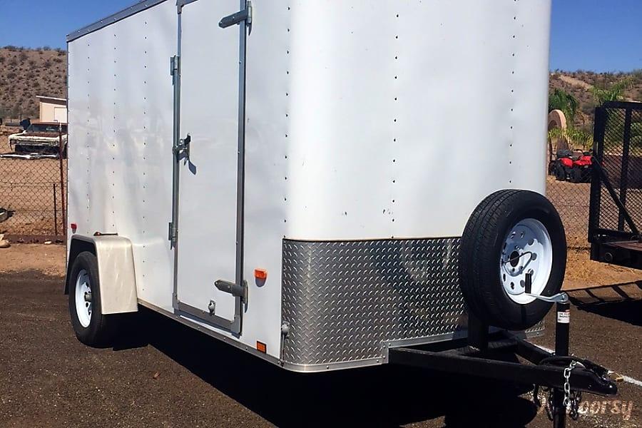 12ft Enclosed Trailer (ET1202) Sun City, AZ