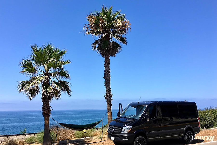 exterior Stanley the 4x4 Sprinter! Encinitas, California