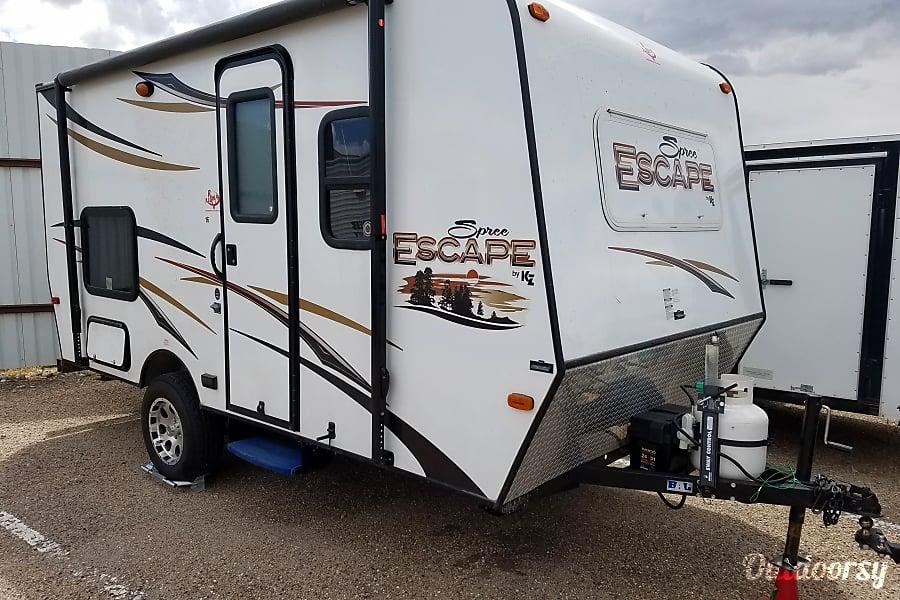 exterior 2014 K-Z Spree Escape 16BH Albuquerque, NM
