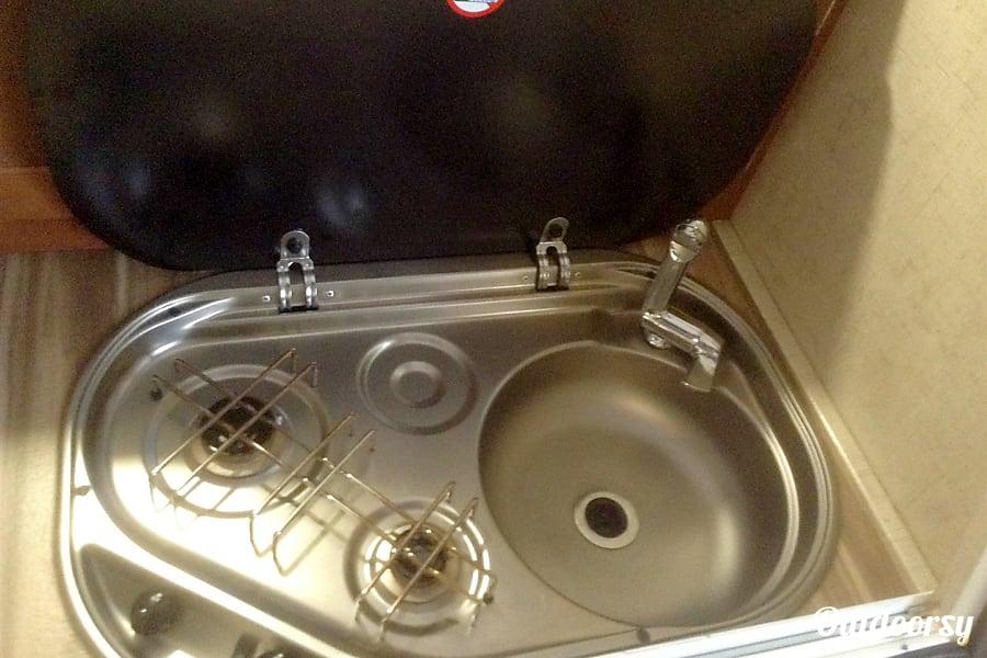 2017 Riverside Rv Whitewater Retro Boise, Idaho Kitchen stove and sink