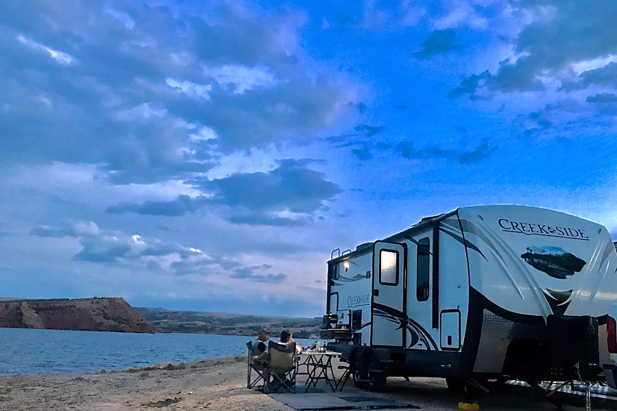 exterior ALL-WINTER, ALL-INCLUSIVE! Brand New OFF-ROAD Creek Side, a true FOUR SEASON, Luxury Camper! Lyons, CO