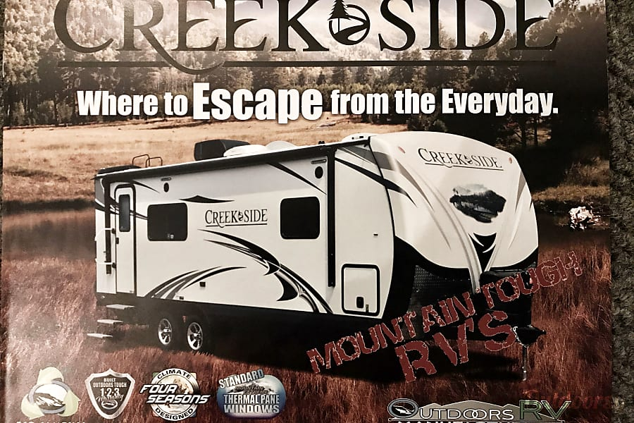 ALL-WINTER, ALL-INCLUSIVE! Brand New OFF-ROAD Creek Side, a true FOUR SEASON, Luxury Camper! Lyons, CO