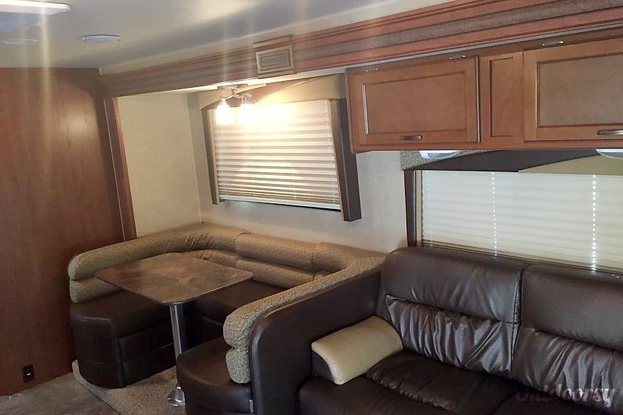 2015 Jayco Redhawk 29 XK -Like new and plenty of space! Cheshire, Massachusetts Booth, sofa