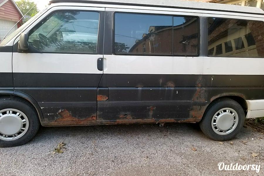 &quot;RUSTY&quot; Eurovan Westfalia AKA <Westy> Weekender Pop-Top Westphalia, Michigan