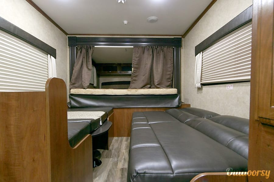 interior 2016 Jayco Jay Feather Knoxville, TN
