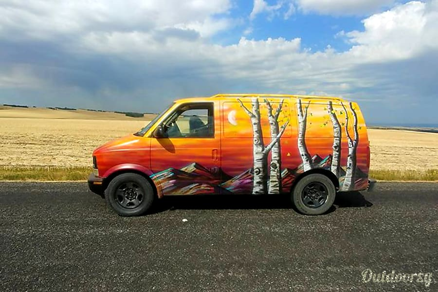 The Sunriser 2004 Chevrolet Astro Van Fun Camper Conversion By Denver Artist Mr