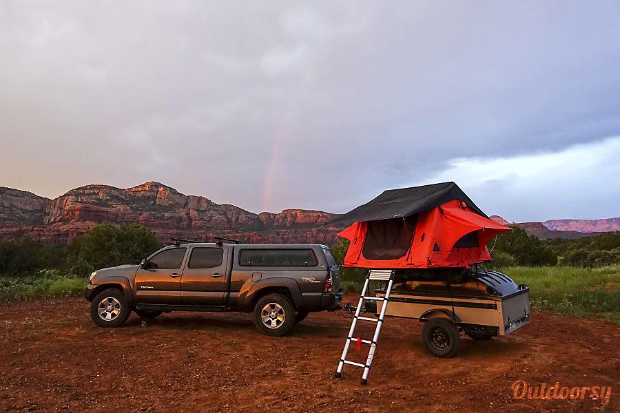 exterior Sedona Excursion Trailer Sedona, Arizona