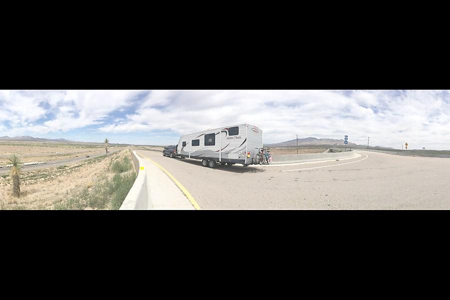 exterior 2014 Dutchmen Aspen Trail Los Ranchos De Albuquerque, NM