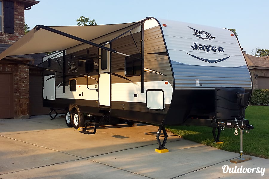 exterior 2017 Jayco Jay Flight Crosby, TX