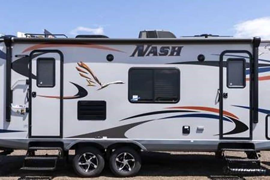exterior 2017 Northwood Nash 24M 4 Season Travel Trailer Longmont, CO