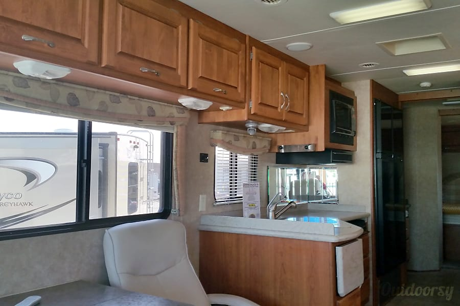 Luxury on wheels Las Vegas, Nevada Double refrigerator, convection & Microwave oven, spacious kitchen area