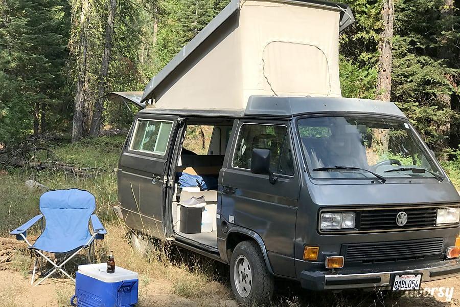 exterior 1987 Volkswagen Vanagon Woodside, CA