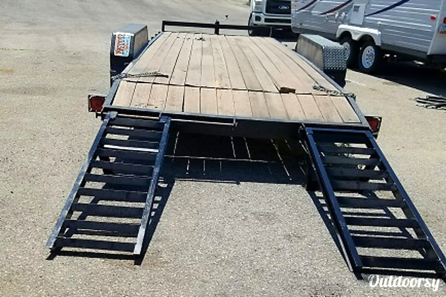 Dovetail Flatbed 20ft Trailer Draper, UT