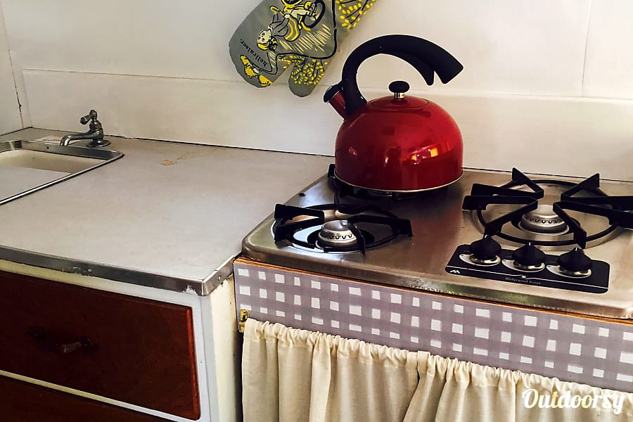 Brave Little Toaster - B.L.T. Corvallis, OR Kitchen with gas stove top
