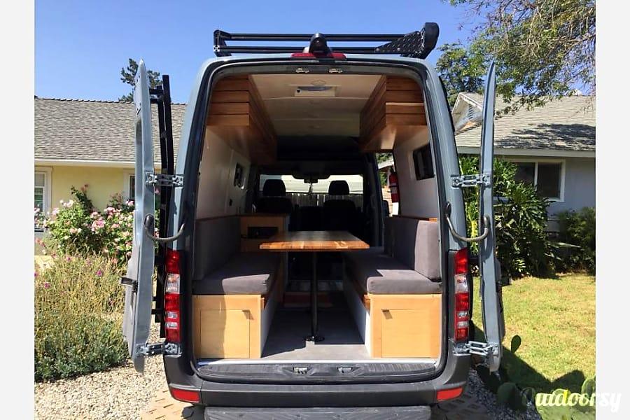 """Paca"" the adventure van  (Mercedes Sprinter 2016) Thousand Oaks, CA"