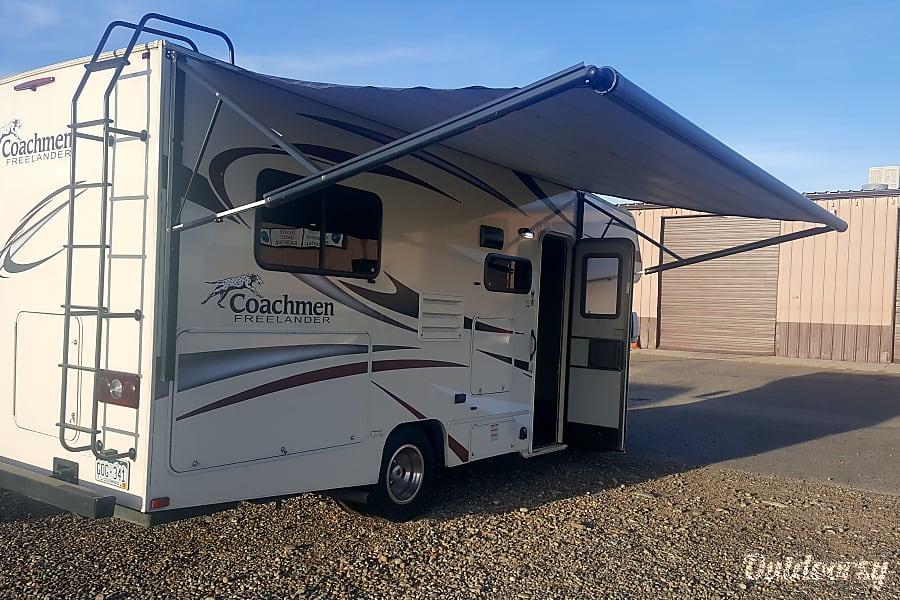 exterior 2016 Coachmen Freelander Grand Junction, CO