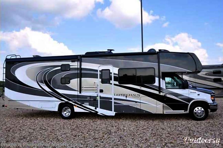 exterior 2018 Coachmen Leprechaun-2 #110 Austin, TX