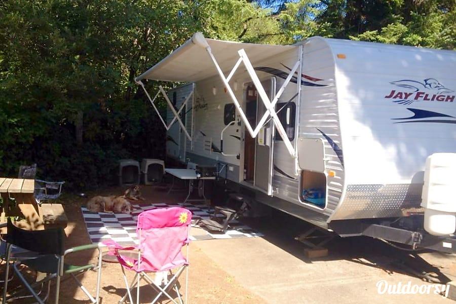 exterior 2011 Jayco Jay Flight Dayton, Oregon