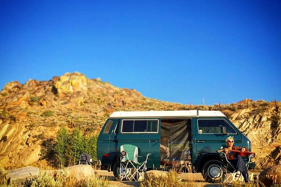 """The Green Vanalishi"" - 1984 Volkswagen Westfalia Denver, CO"
