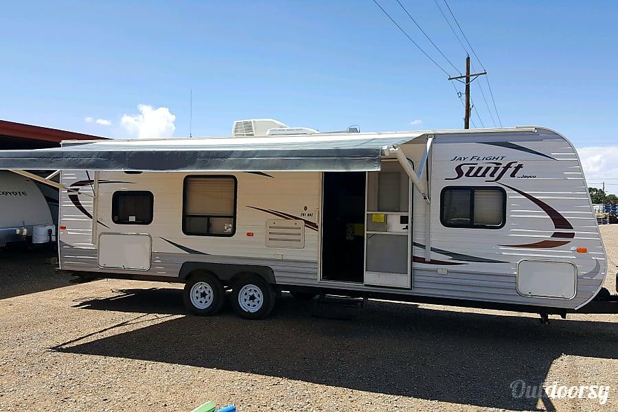 exterior 2014 Jayco Jay Flight Swift Alamogordo, New Mexico