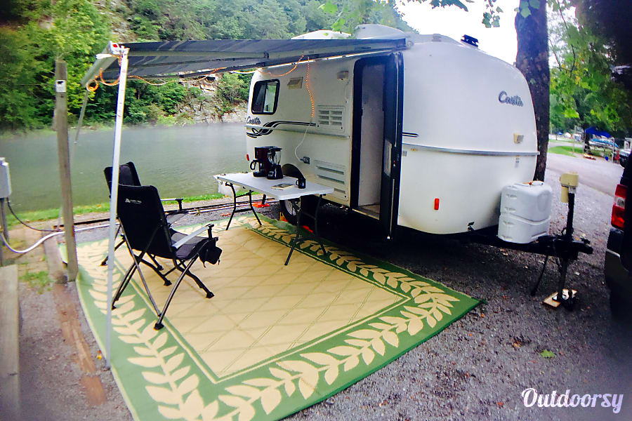 2012 Casita 17' Spirit Deluxe Weaverville, North Carolina Camping is easy in the Casita!
