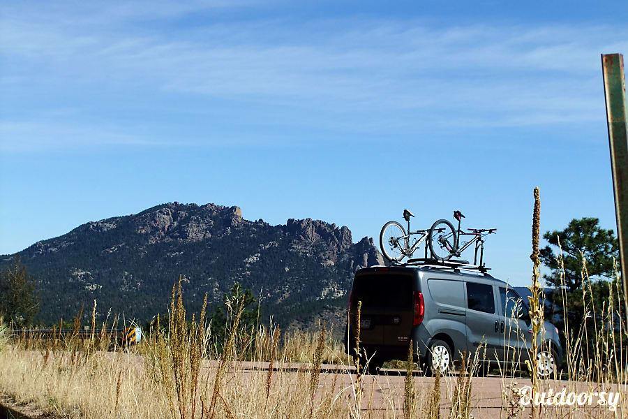 2015 Dodge Other Colorado Springs, CO Throw your bikes up top and head to the hills...