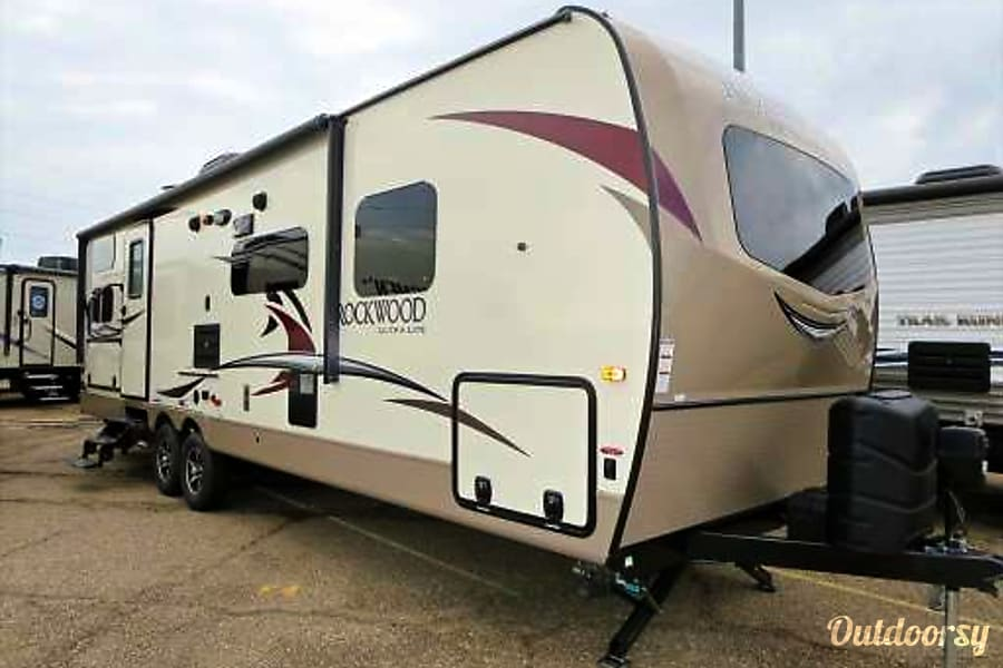 exterior 2018 Forest River Rockwood Ultra Lite - Delivery Available Spring, TX